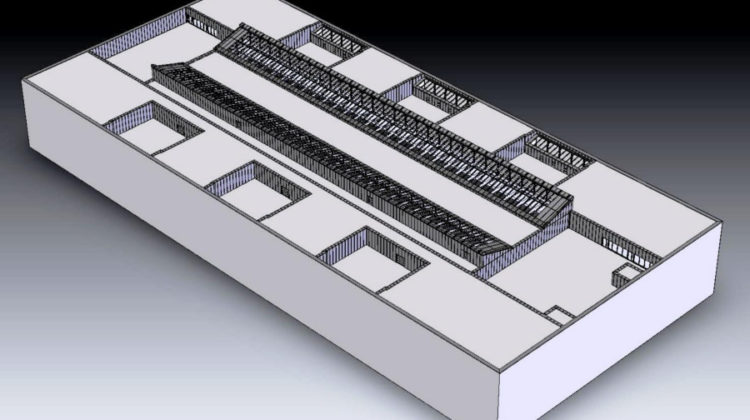 Modell Flughafen Zürich